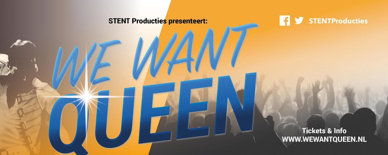 John Vooijs in theaterconcert We Want Queen