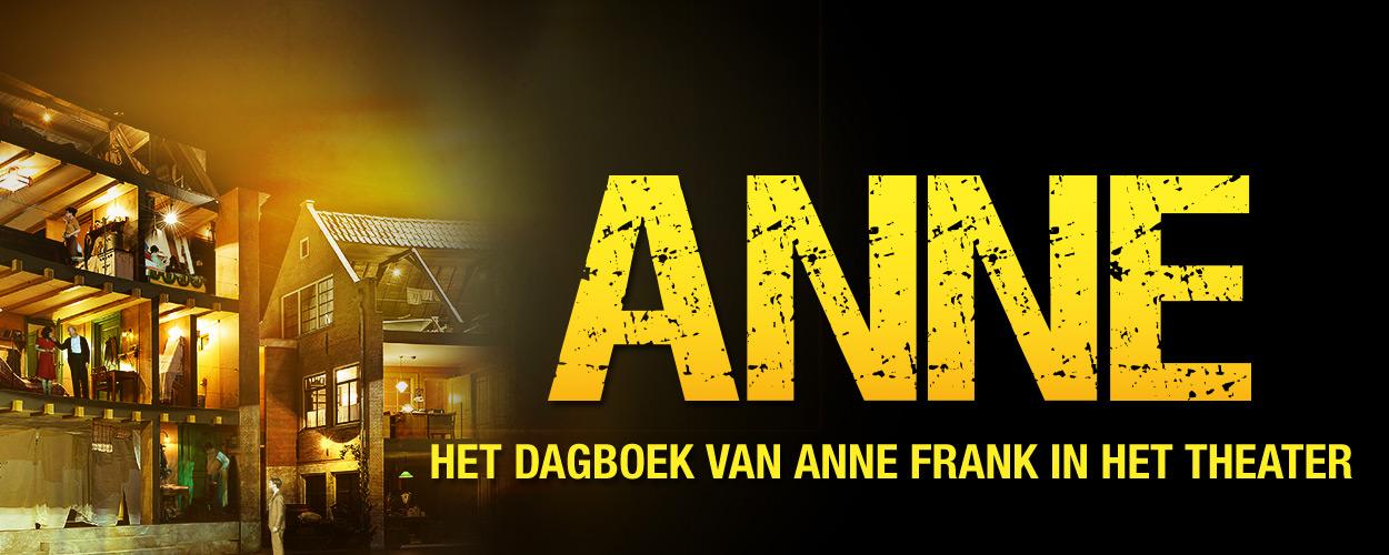 ANNE vanaf april terug in Theater Amsterdam met een nieuwe Anne Frank