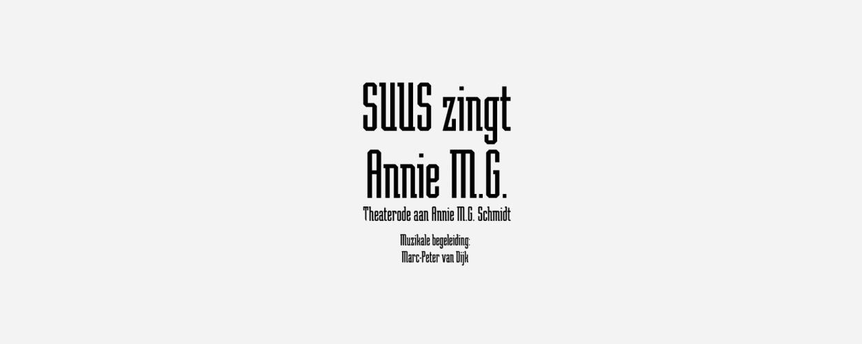 Suus zingt Annie M.G. bij Tijd voor Max