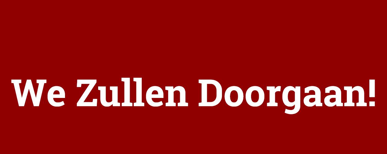 Te zien van 4 tot en met 28 mei, Vuile Huichelaar 4: We Zullen Doorgaan!