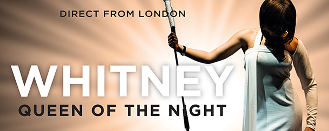 Whitney – Queen Of The Night op 13 februari in Kursaal Oostende