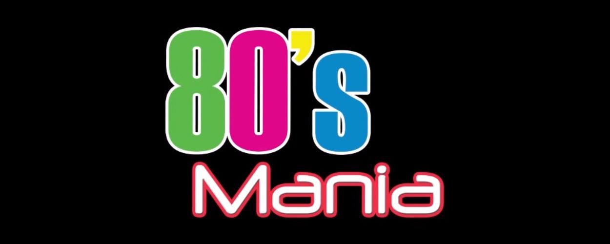 80's Mania in Nederland van 3 maart tot en met 9 april