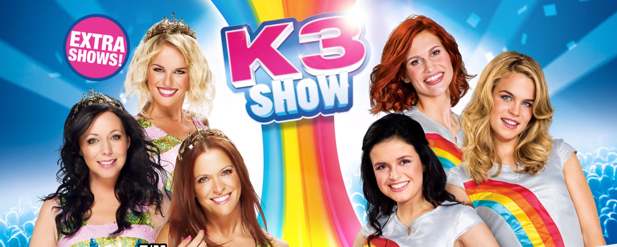 Al meer dan 400.000 kaartjes verkocht voor shows K3 in Benelux