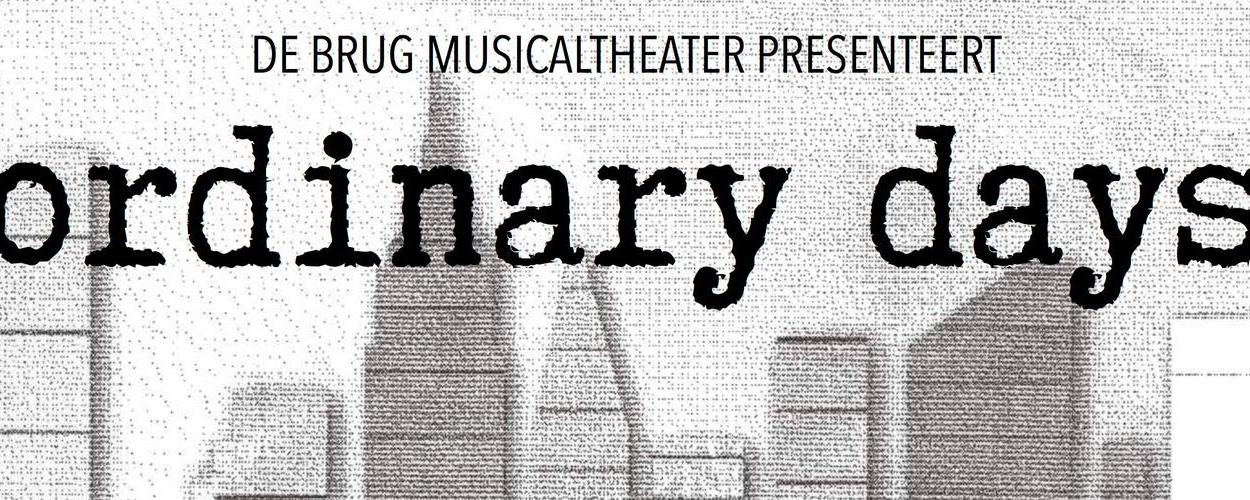 Audities: De Brug Musicaltheater zoekt met spoed acteur voor Ordinary Days