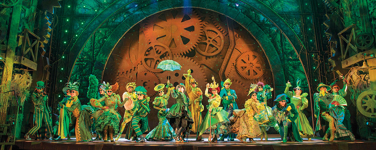 Wicked nog tot eind april 2017 te zien op West End