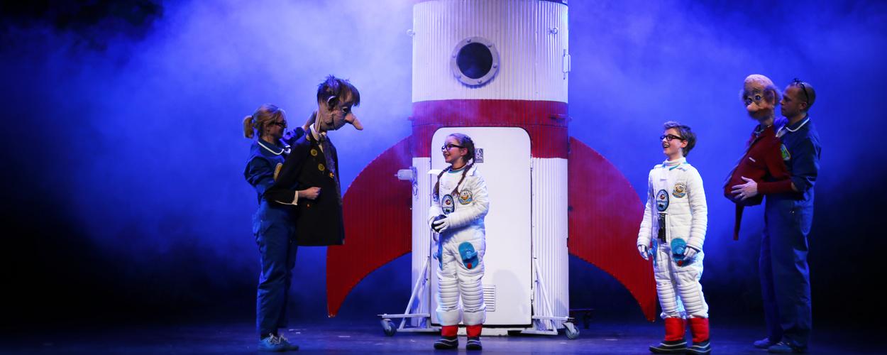 De eerste beelden van André het astronautje