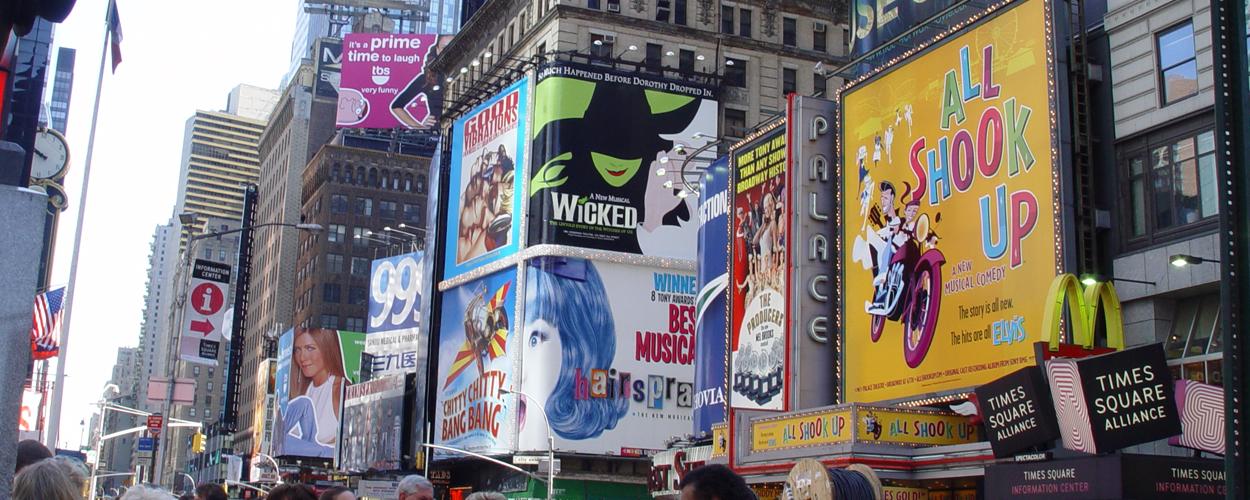 Verlenging voor sluiting theaters op Broadway