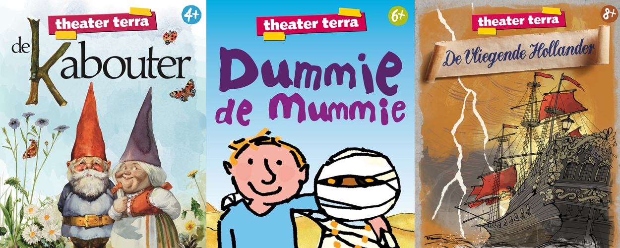 Theater Terra moet noodgedwongen Dummie de Mummie en De Vliegende Hollander annuleren