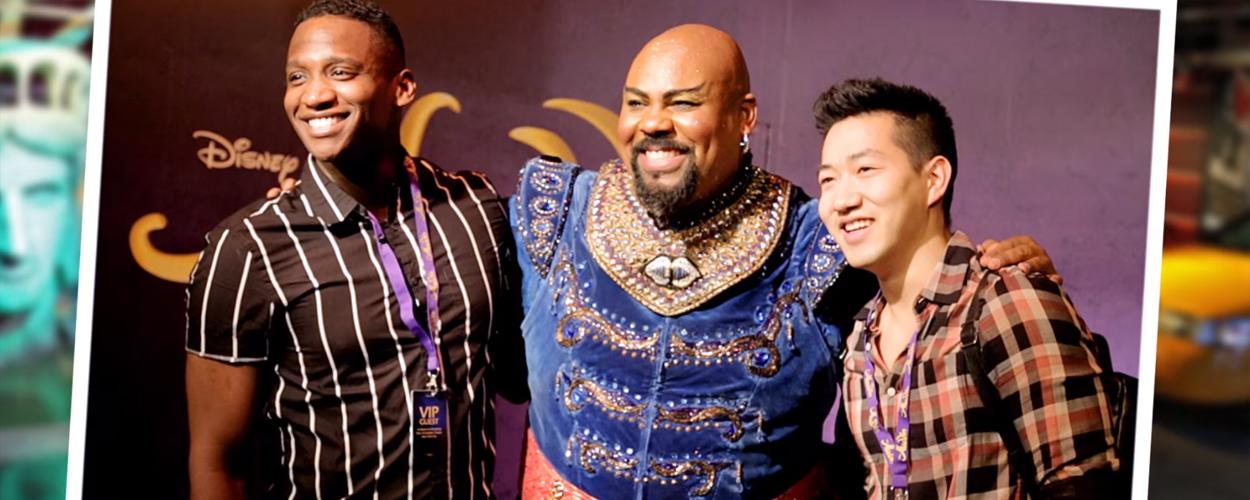 Genie uit Aladdin komt plots tot leven in Madame Tussaud