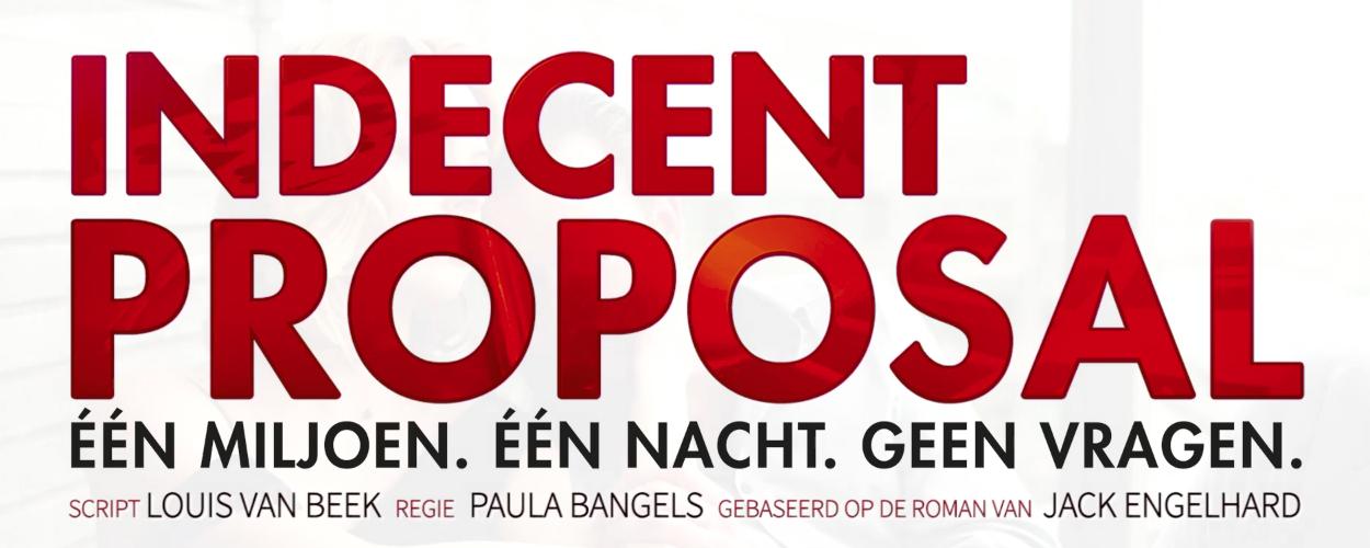 Eerste promo Indecent Proposal