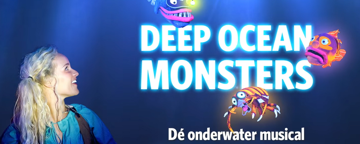 Deep Ocean Monsters, een nieuwe onderwater musical in Burgers' Zoo