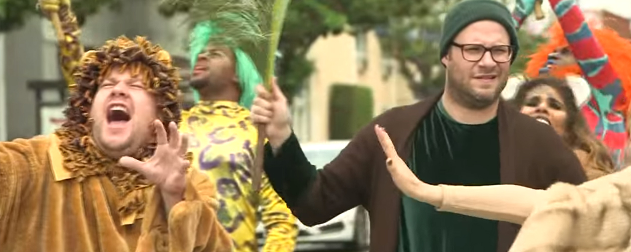 James Corden presenteert Crosswalk the Musical: The Lion King