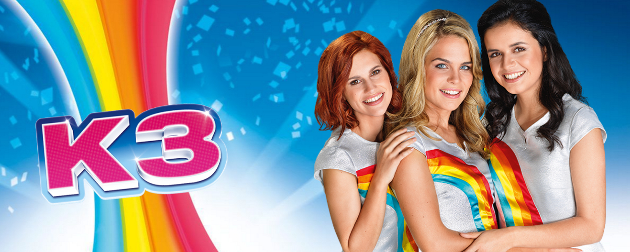 Hanne, Marthe en Klaasje volgend jaar met nieuwe K3-show op tournee