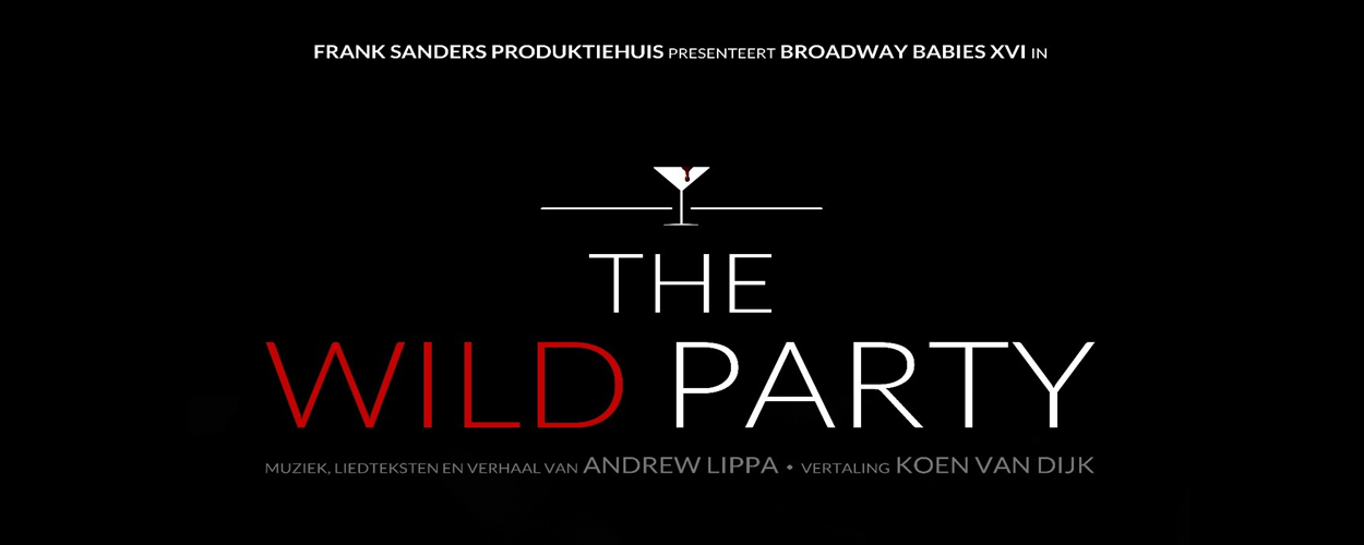 Derde jaars studenten Frank Sanders Akademie studeren af met Broadway hit The Wild Party
