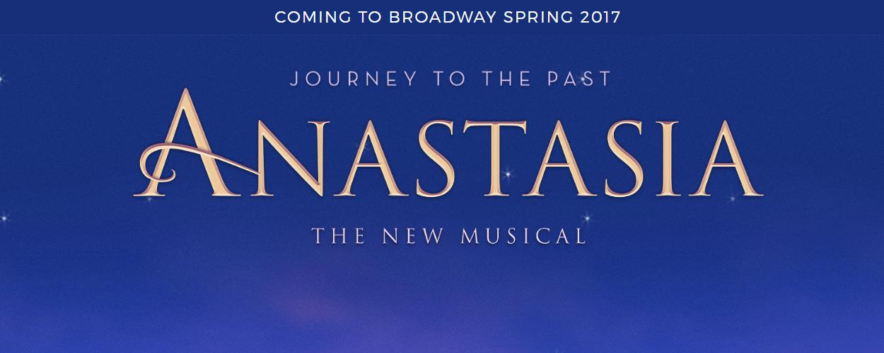 Anastasia vanaf april 2017 op Broadway te zien