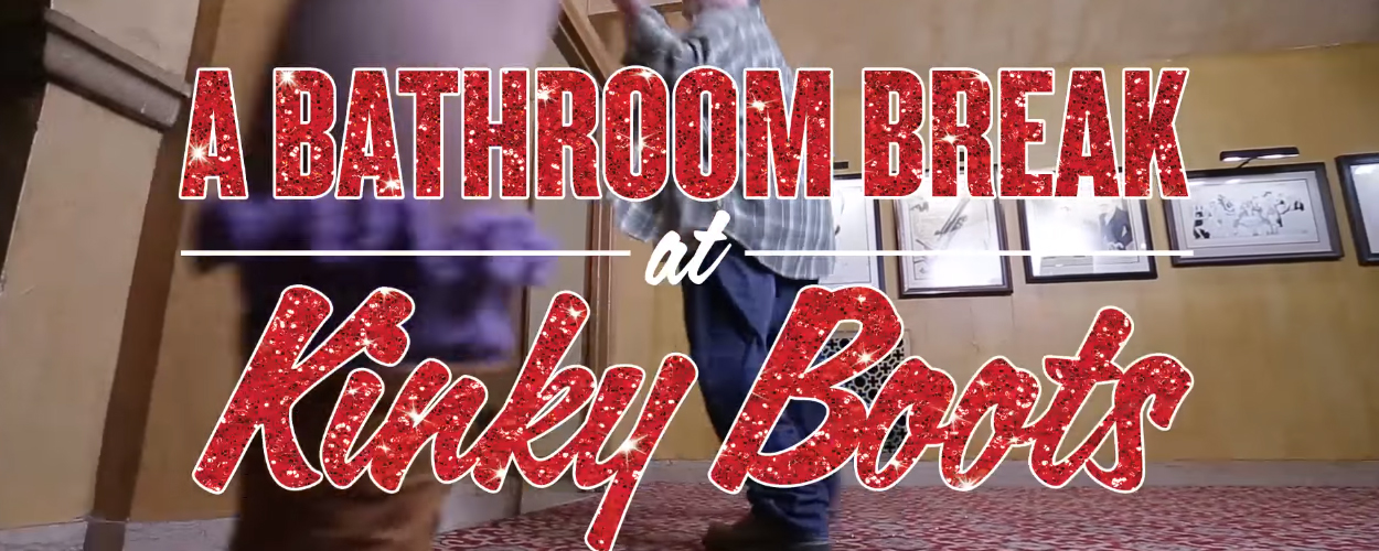 Castleden van Kinky Boots maken protestvideo als reactie op wc-wet