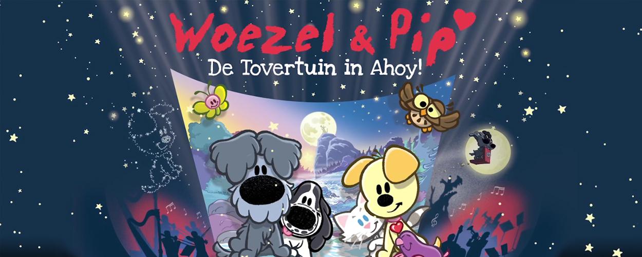 Woezel & Pip met orkest naar Ahoy voor groots meezing-festijn