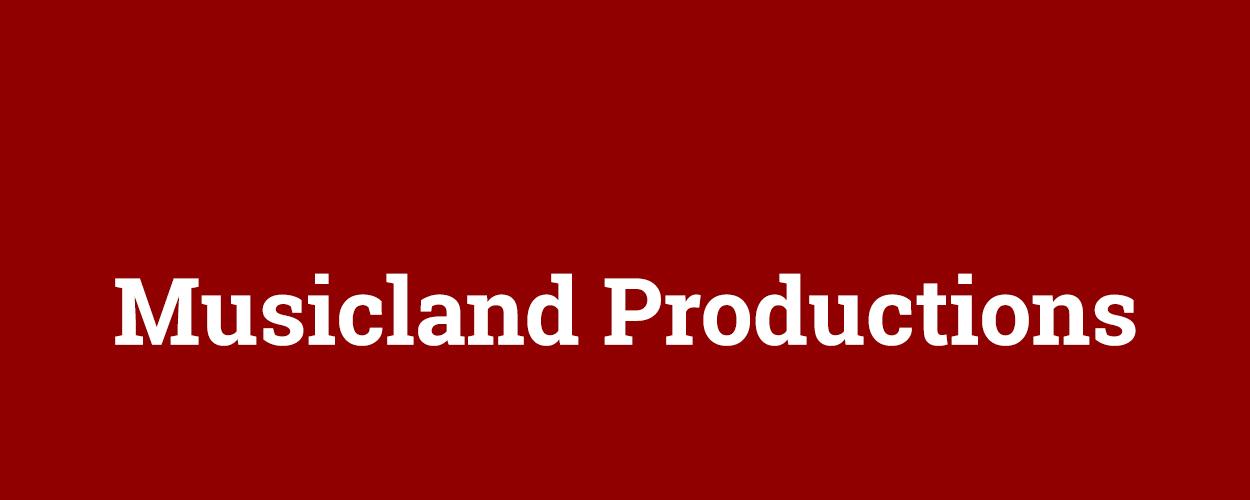 Audities: Musicland Productions tenor en bas/bariton zanger