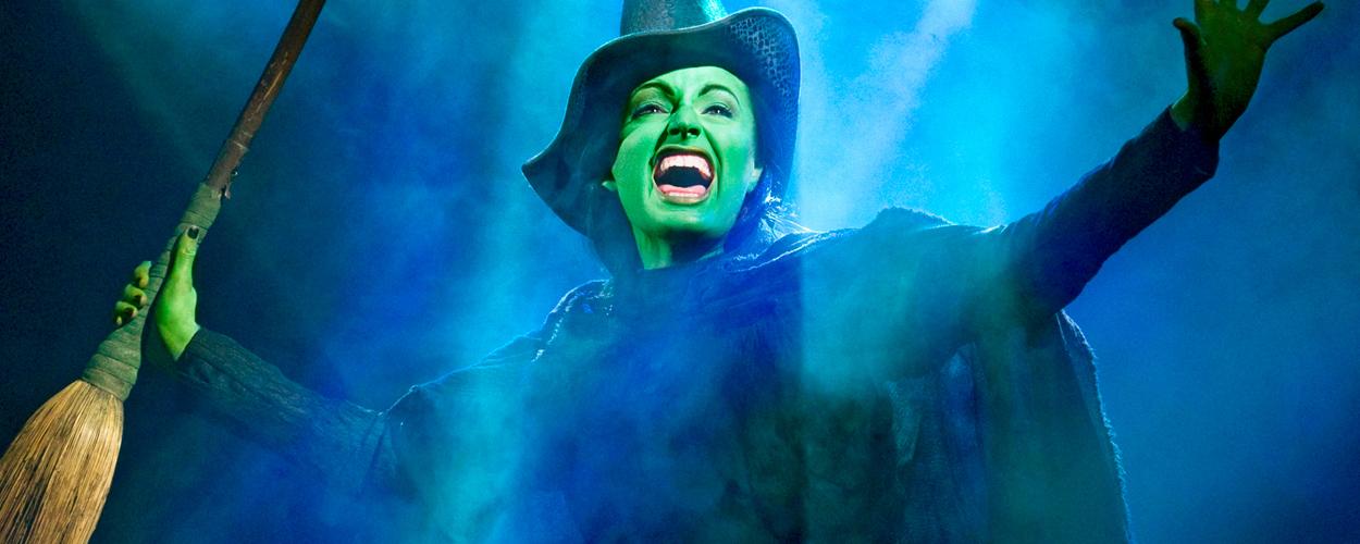 360-graden foto slotapplaus Wicked op Broadway