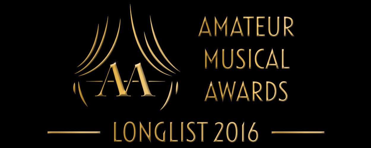 Longlist Amateur Musical Awards 2016 aangekondigd