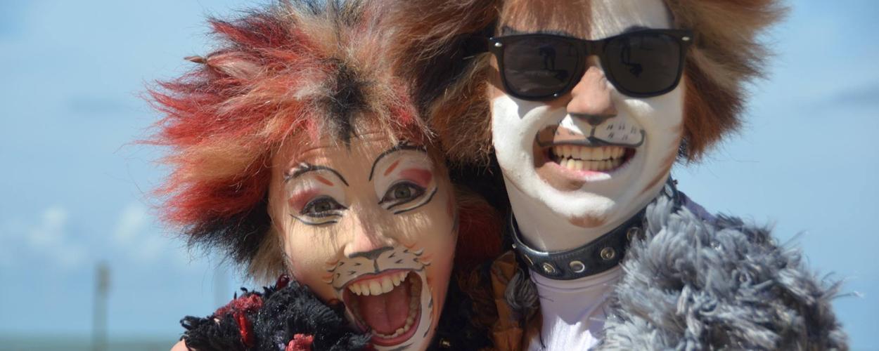 Twee castleden Cats aanwezig op de Antwerpse Cultuurmarkt