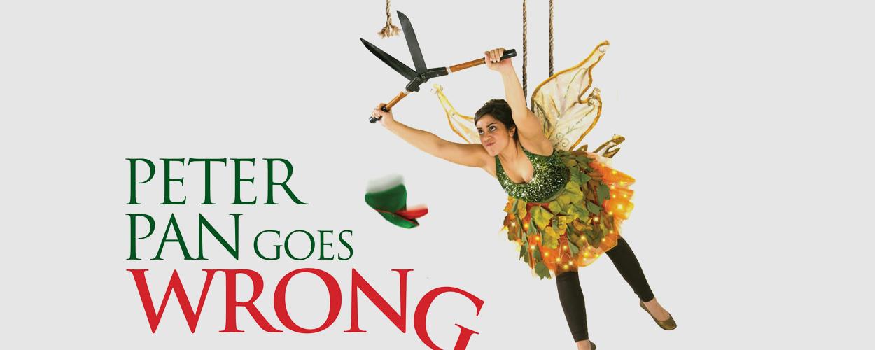 Peter Pan Goes Wrong met kerst te zien op BBC1