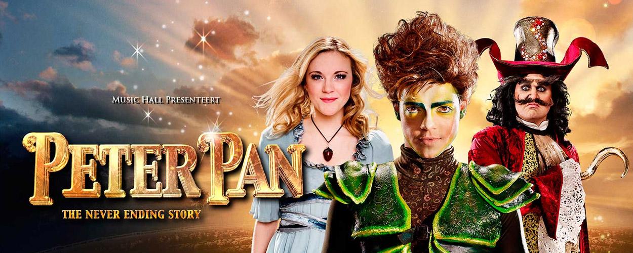 Peter Pan The Never Ending Story eind dit jaar te zien in Antwerpen