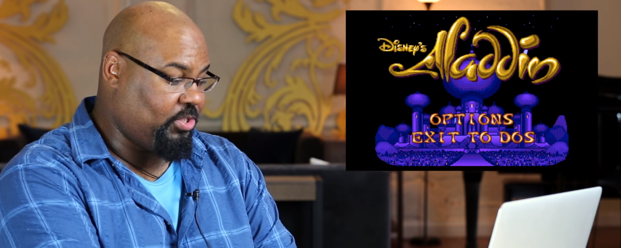 Castleden van Aladdin spelen het spel Aladdin uit 1993