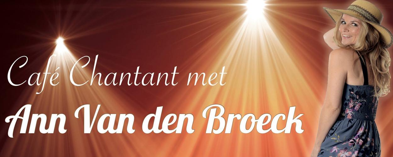 Café Chantant van Musicalia met Ann Van den Broeck