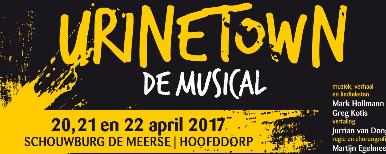 Stichting Mét brengt Urinetown op 20, 21 en 22 april in Schouwburg De Meerse