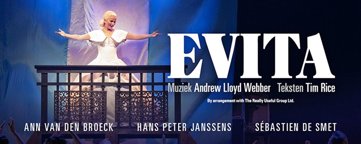 Extra voorstellingen van Evita op 3 en 4 maart in Gent