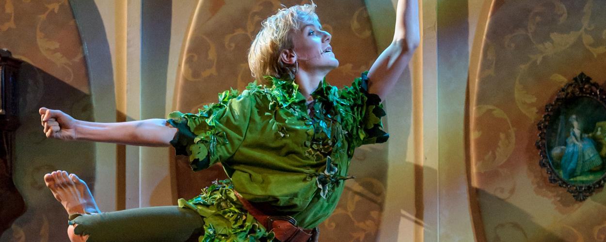 Beide kindercasts in laatste voorstelling Peter Pan: Het echte verhaal
