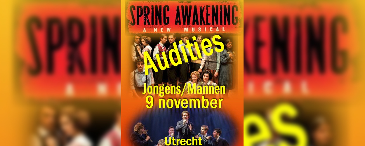 Audities: Spring Awakening van Miroproductions