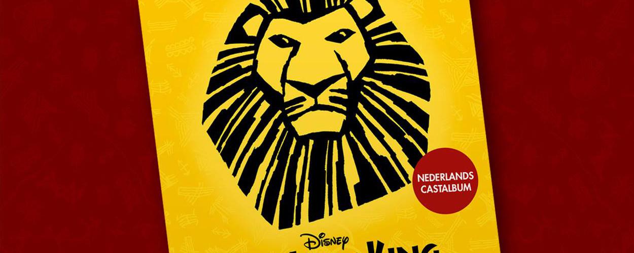 Nederlands castalbum The Lion King nu te koop