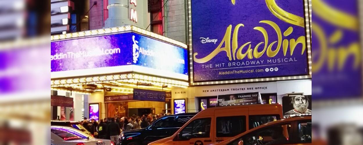 Recensie: Aladdin op Broadway