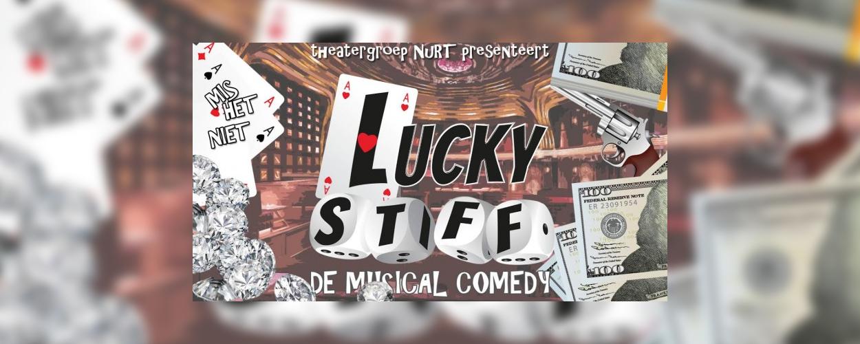 Theatergroep NuRT speelt volgende maand Lucky Stiff