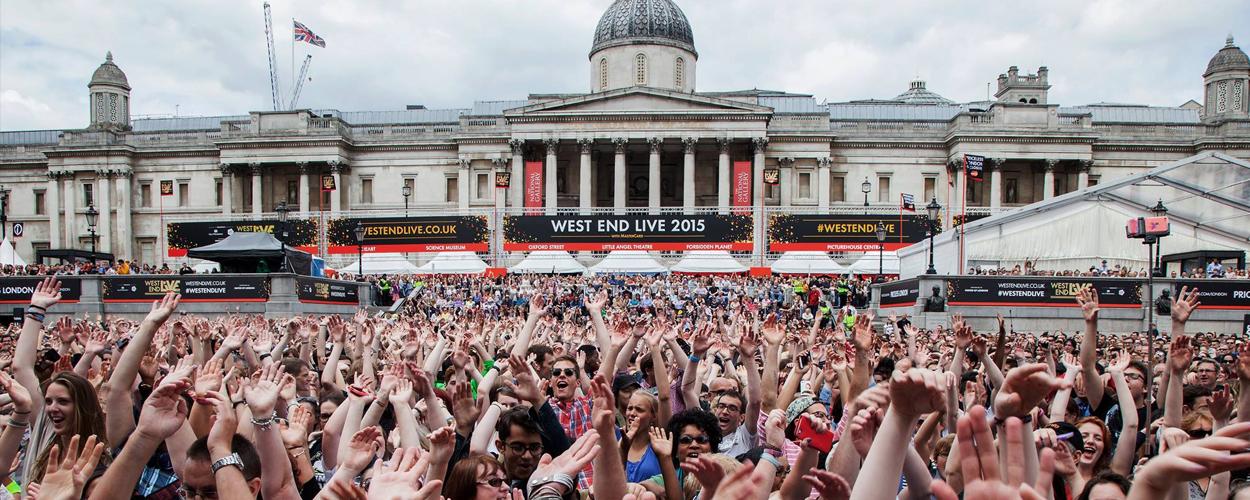 West End Live 2017 zal eind juni plaats gaan vinden