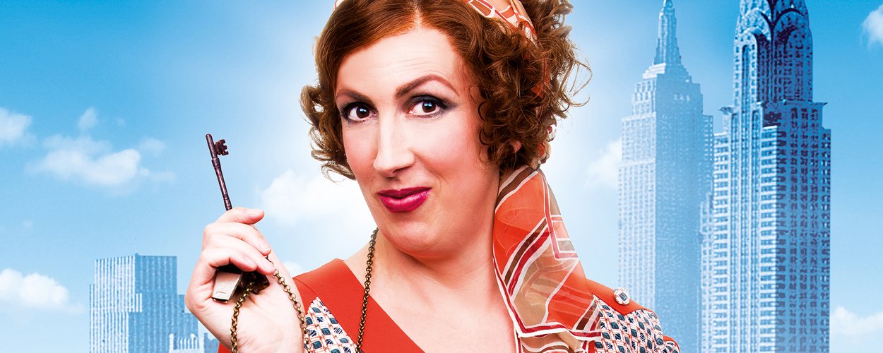 Miranda Hart maakt debuut op West End als Miss Hannigan in Annie