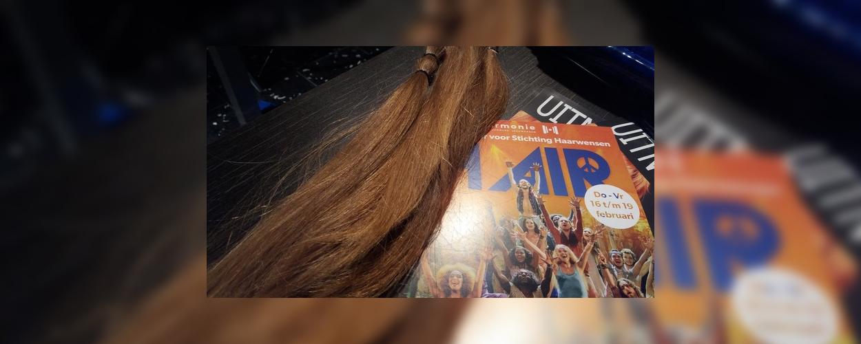 Haar doneren om gratis naar Hair te kunnen in Leeuwarden