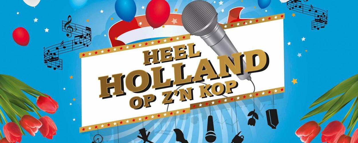 Heel Holland op z'n Kop met Linda Wagenmakers, Jasper Taconis, Remko Harms en Nicky van der Kuyp