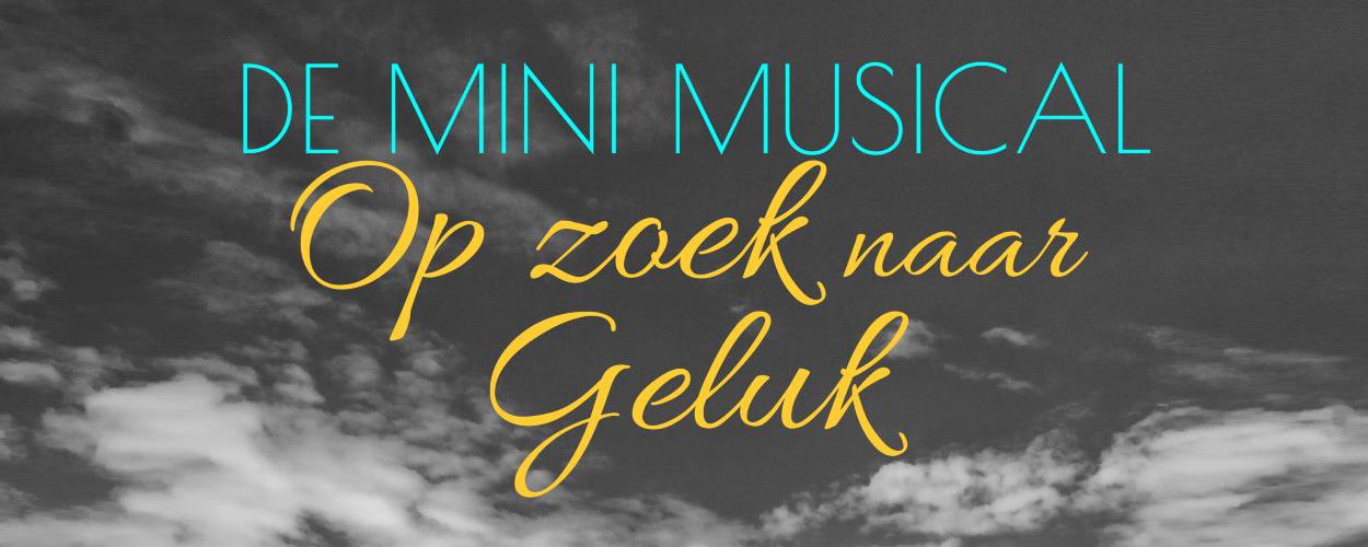 Audities: Mini-musical Op zoek naar Geluk van Muziektheater makerij