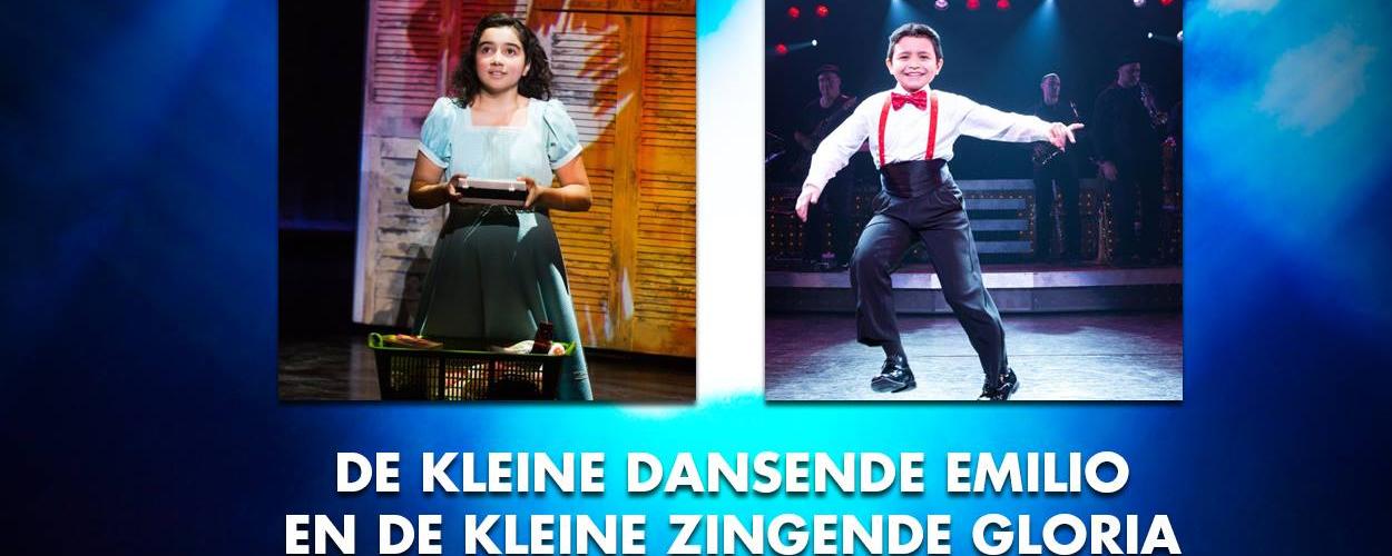 Audities: Kleine Gloria en kleine Emilio voor On Your Feet!