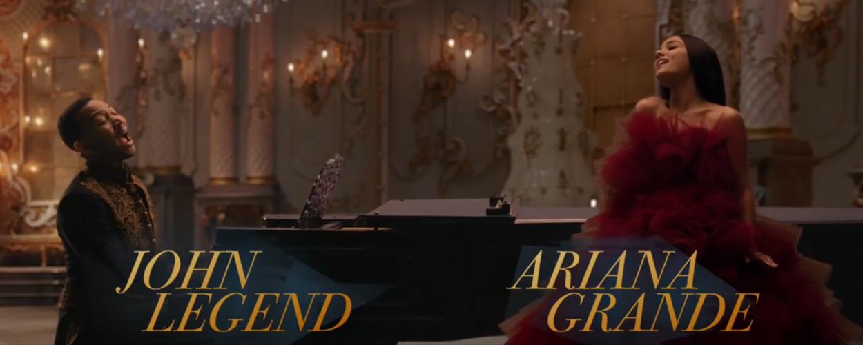 Clip 'Tale as old as time' van Ariana Grande en John Legend nu online