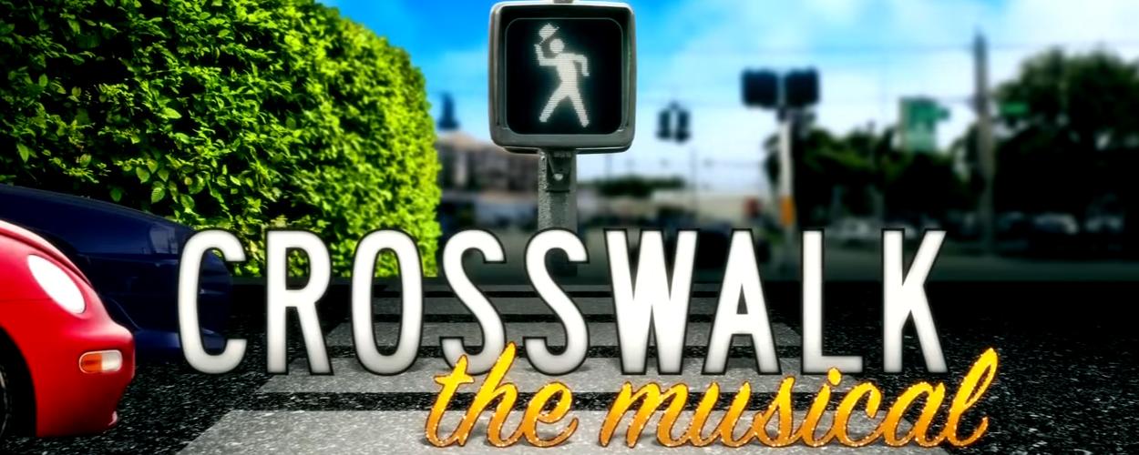 James Corden presenteert Beauty and the Beast op het zebrapad, Crosswalk the Musical