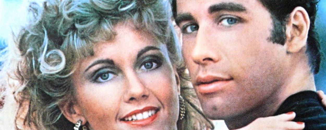 Olivia Newton-John en John Travolta presenteren Grease sing-a-long