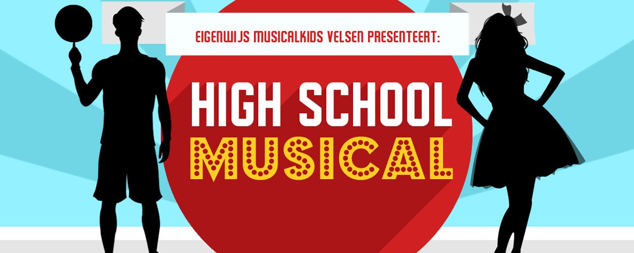 Eigenwijs Musicalkids Velsen spelen High School Musical