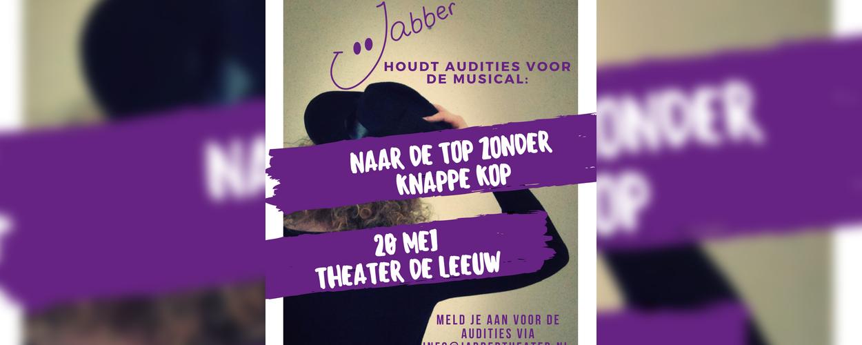 Audities: Naar de top zonder knappe kop van Jabber uit Arnhem