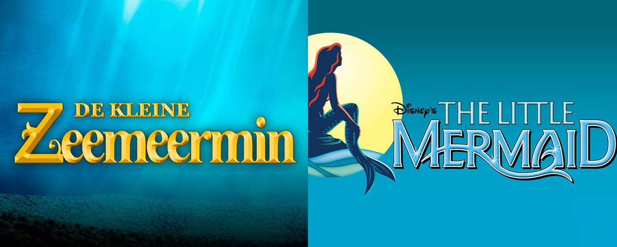 Eind dit jaar De Kleine Zeemeermin en The Little Mermaid in Vlaanderen