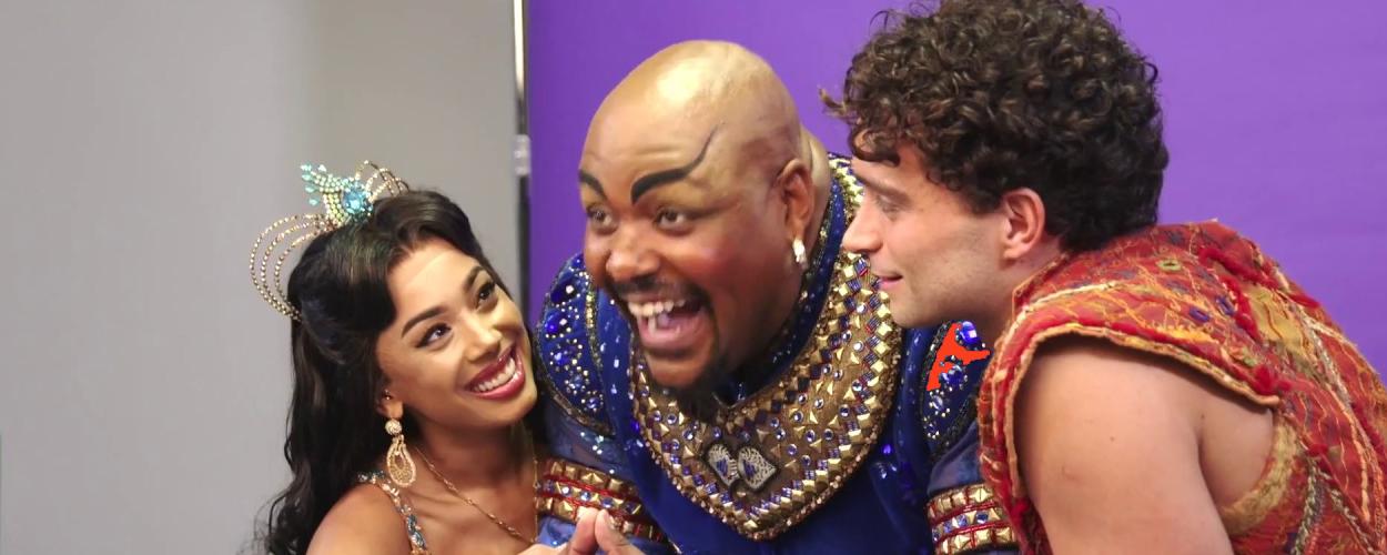 Introductie van Matthew Croke, de nieuwe Aladdin op West End