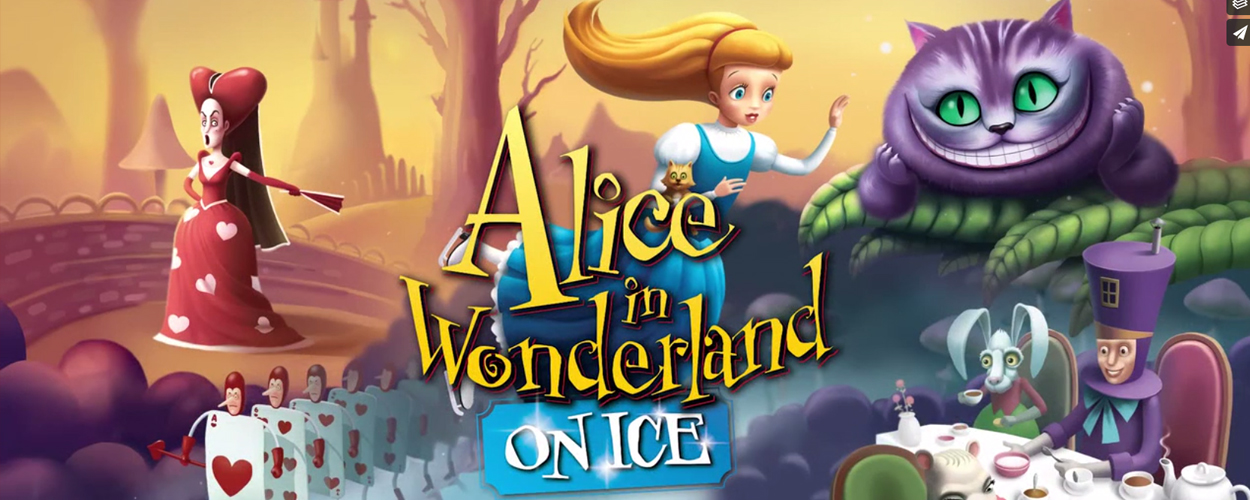 Alice in Wonderland on Ice in Kursaal Oostende